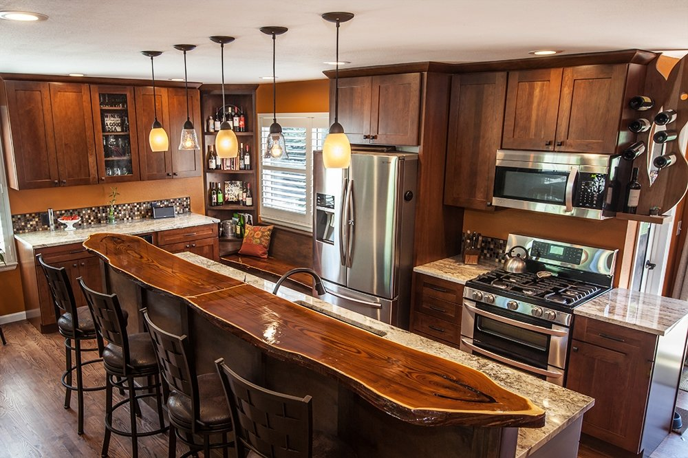 Kitchen Remodel by Piche Building & Design