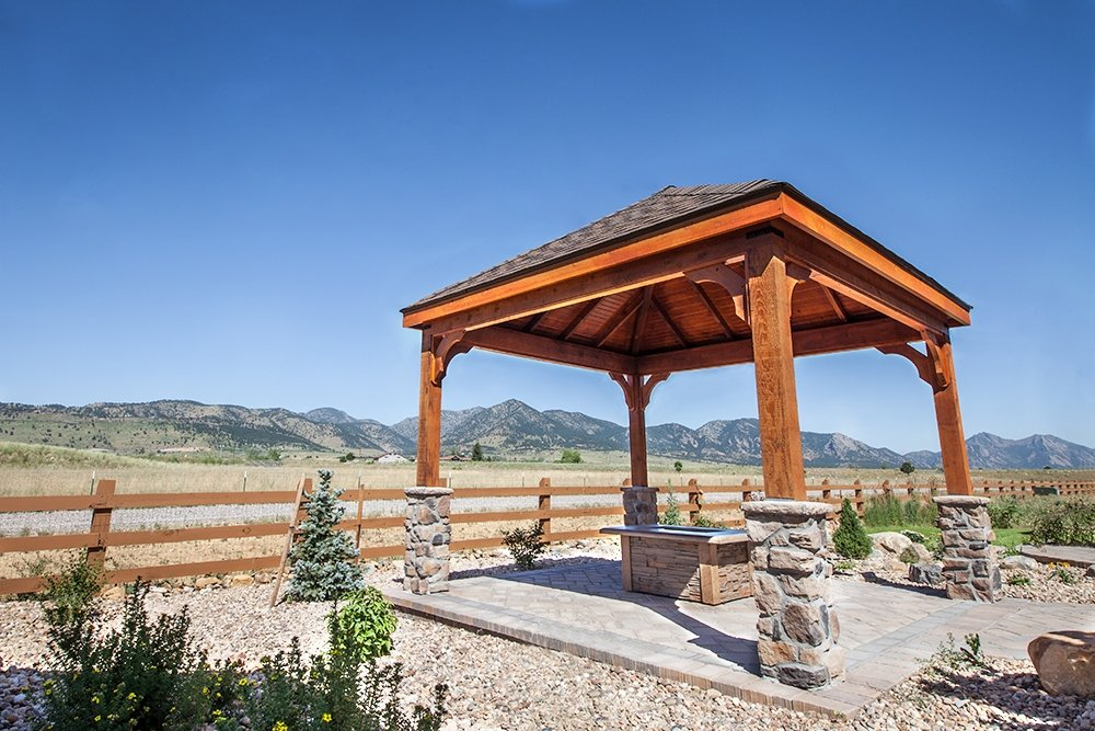 Gazebo by Piche Building & Design